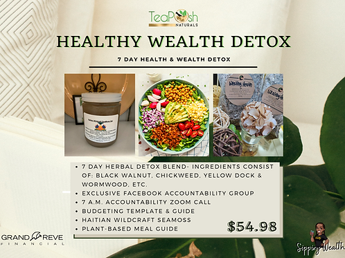 Healthy Wealth Detox