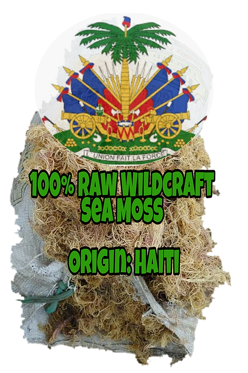 PreOrders ONLY!!!!Haitian Wildcraft SeaMoss per Pound (limit 5lb per purchase) a