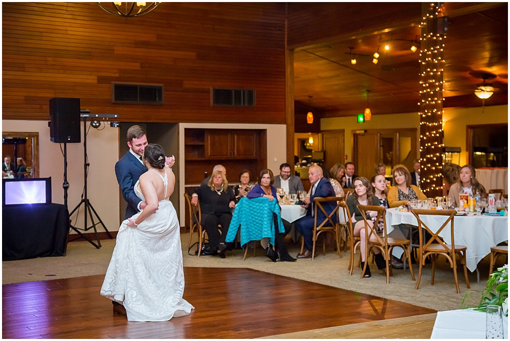 first dance at Innsbrook Resort