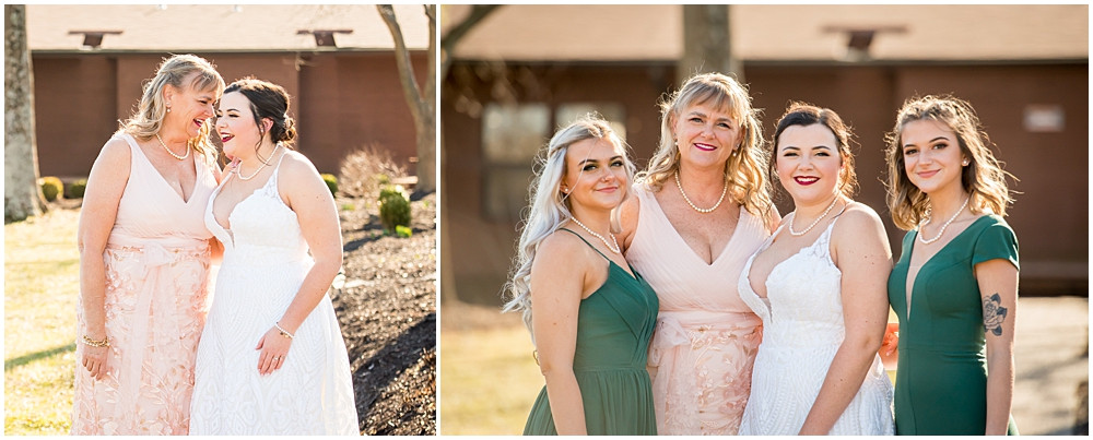 bride and her mom and sisters, Innsbrook Resort