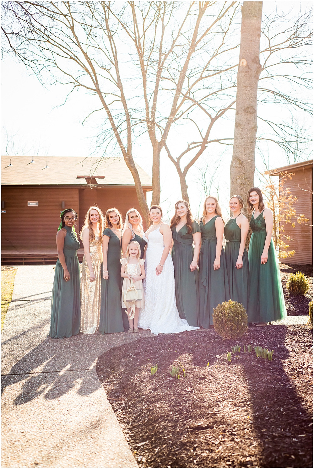 bride and bridesmaids, Innsbrook Resort
