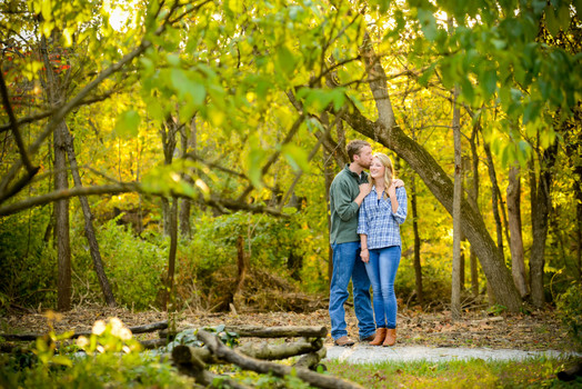 Lauren and Travis had a beautifully natural engagement session at Capen Park in Columbia Missouri. What fun at the park!