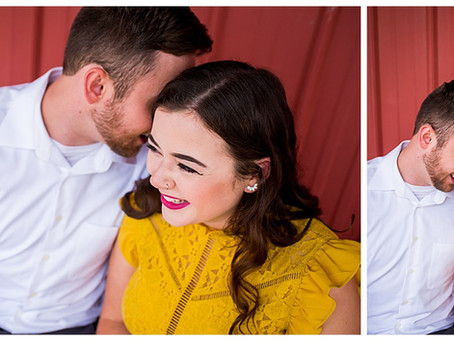 Fall Engagement Session at Strawberry Hill Farms: Sophia and Ryan