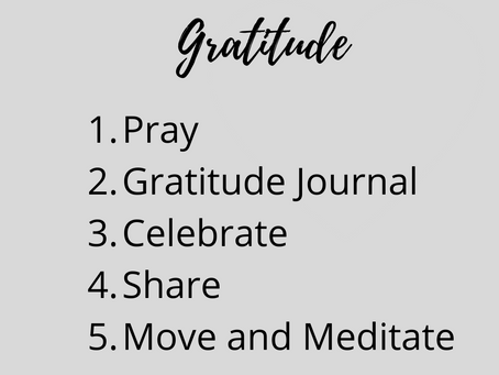 Cultivating The Attitude Of Gratitude