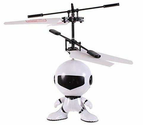 Astrobot childrens flying toy on white background