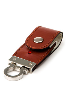 USB Leather Clip