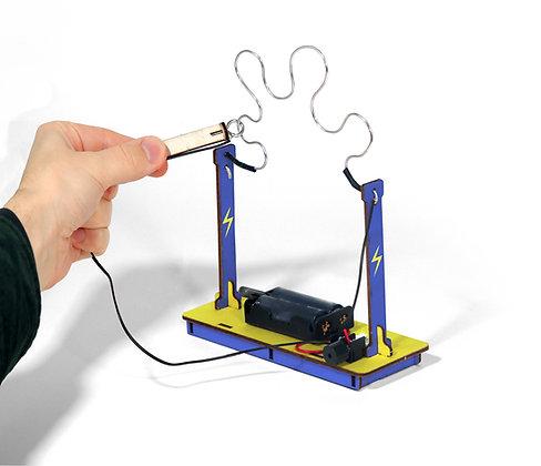 Make Your Own Buzz Wire Maze
