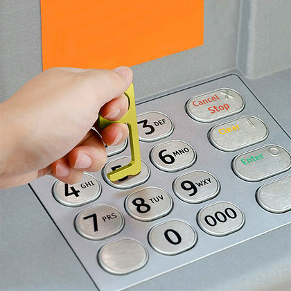 Hygiene Key in safe use on pin pad