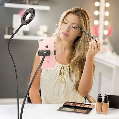 Video Blogger Light & Phone Holder
