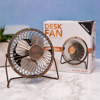 Bronze Desk fan for the office