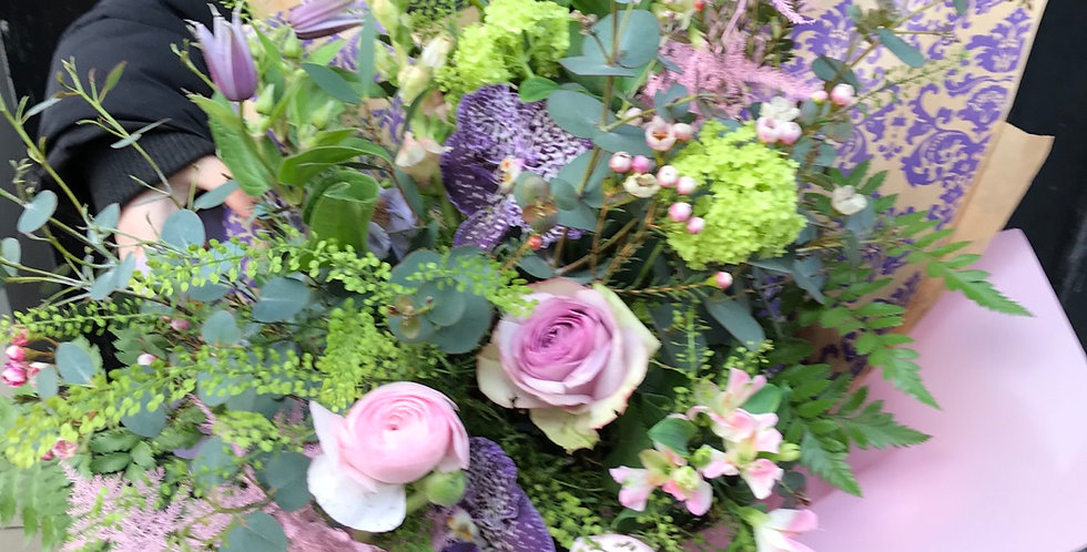 Pink and Lilac Bouquet