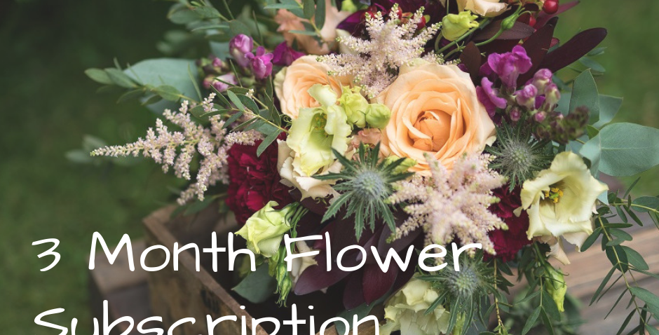 3 months of flowers subscription