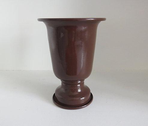 Vaso Alumínio Marrom P