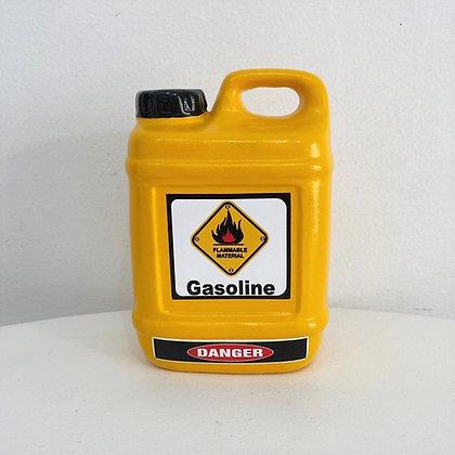 Galão Gasolina Amarelo