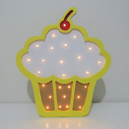 Cupcake Luminoso