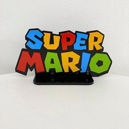 Super Mario Placa
