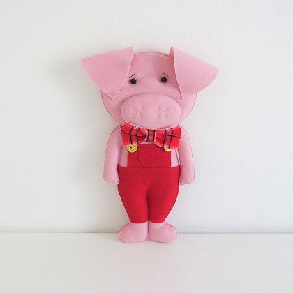 Porquinho Vermelho (Os Três Porquinhos)