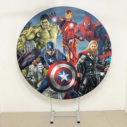 Painel Sublimado Os Vingadores 1,80m (tecido)
