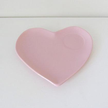 Bandeja Coração Rosa