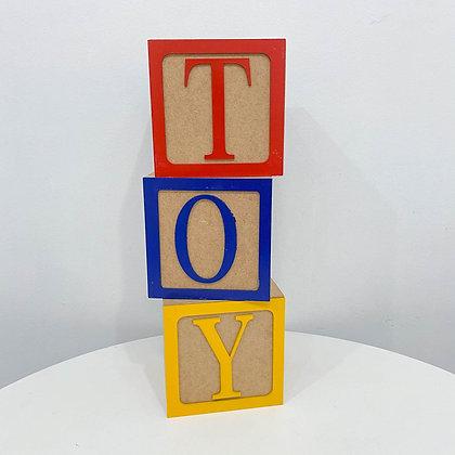 Cubo Toy Trio