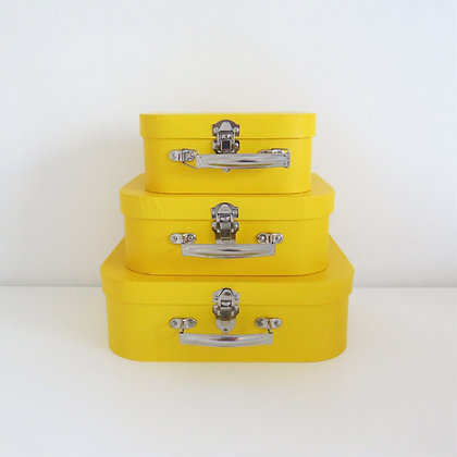 Trio Maletas Amarela