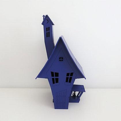Casa Assustadora Roxa - Halloween - Dia das Bruxas
