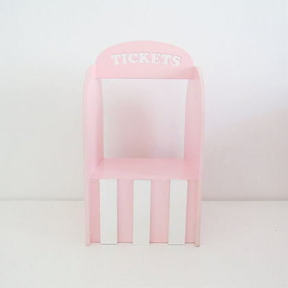 Bilheteria Tickey Rosa (Circo)