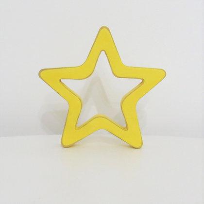Estrela Amarela Vazada PP
