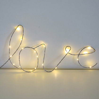 Love Luminoso Luz de Fada