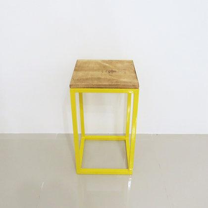Mesa Cubo Vazado Amarelo 4