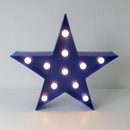 Estrela Luminosa Azul