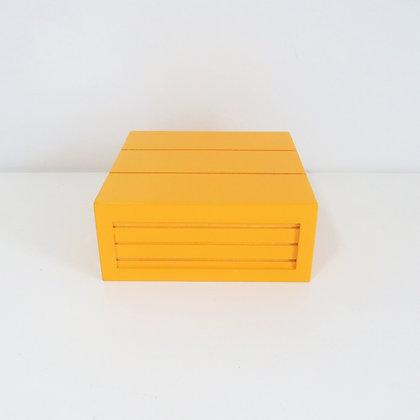 Caixa MDF Amarela