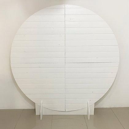 Painel Redondo Branco 1,90m