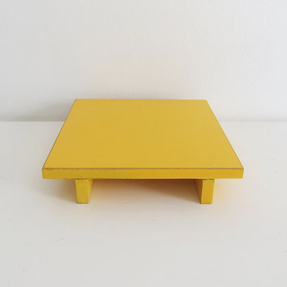 Bandeja MDF Amarela P