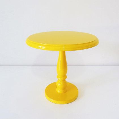 Prato Laqueado Amarelo G