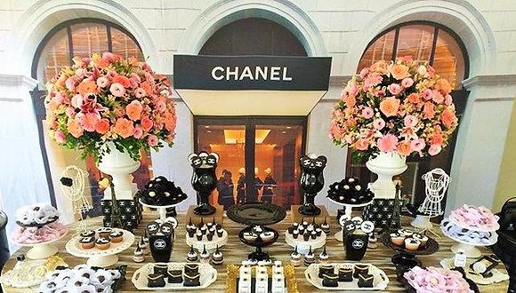 Tecido Sublimado Chanel (4 metros)