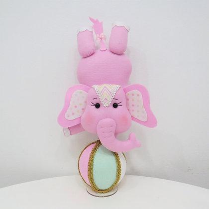 Elefante Circo Rosa