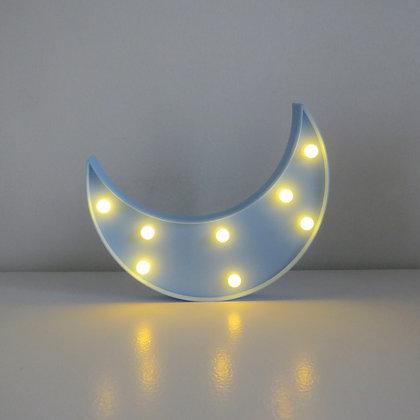 Lua Luminosa Azul