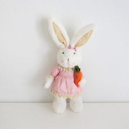 Coelha Pelúcia em Pé
