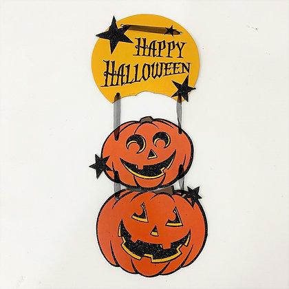 Placa Happy Halloween