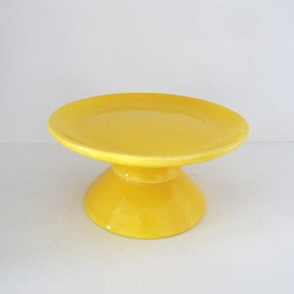Prato Liso Amarelo P