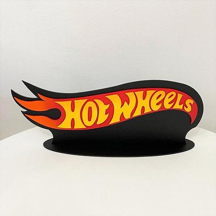 Hotwheels Placa