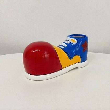Sapato Palhaço Cerâmica Colorido P