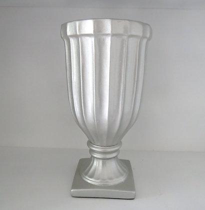 Vaso Canelado Prata G