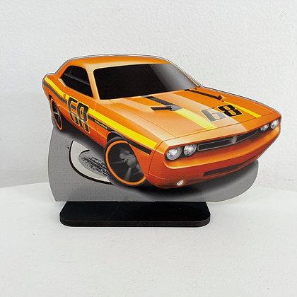 Carro Laranja Hotwheels