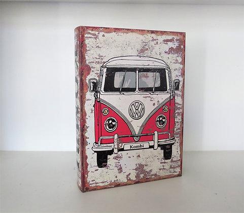 Livro Caixa Kombi