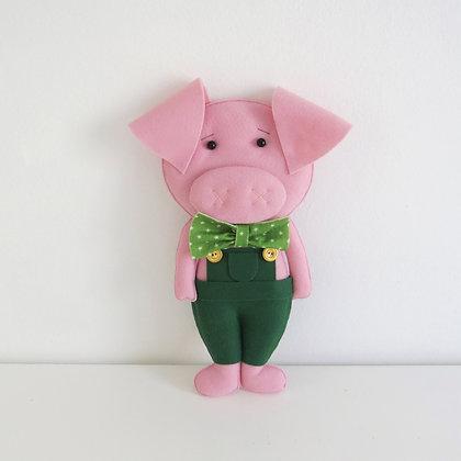 Porquinho Verde (Os Três Porquinhos)