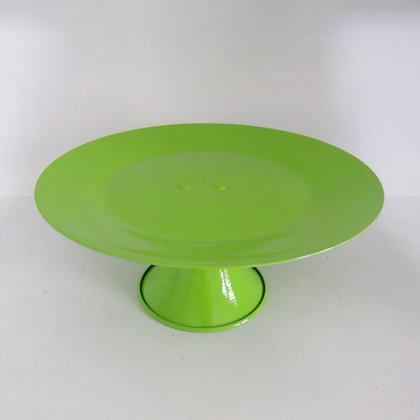 Prato Alumínio Verde Limão M