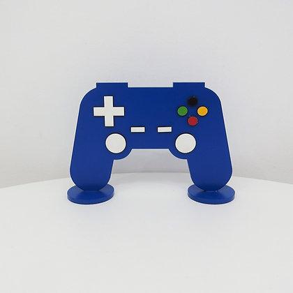 Controle Vídeo Game Azul