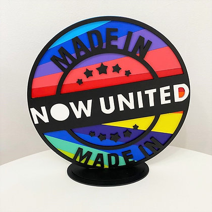 Placa Redonda Now United